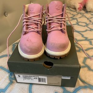 Infant Timberlands size 9 Toddler